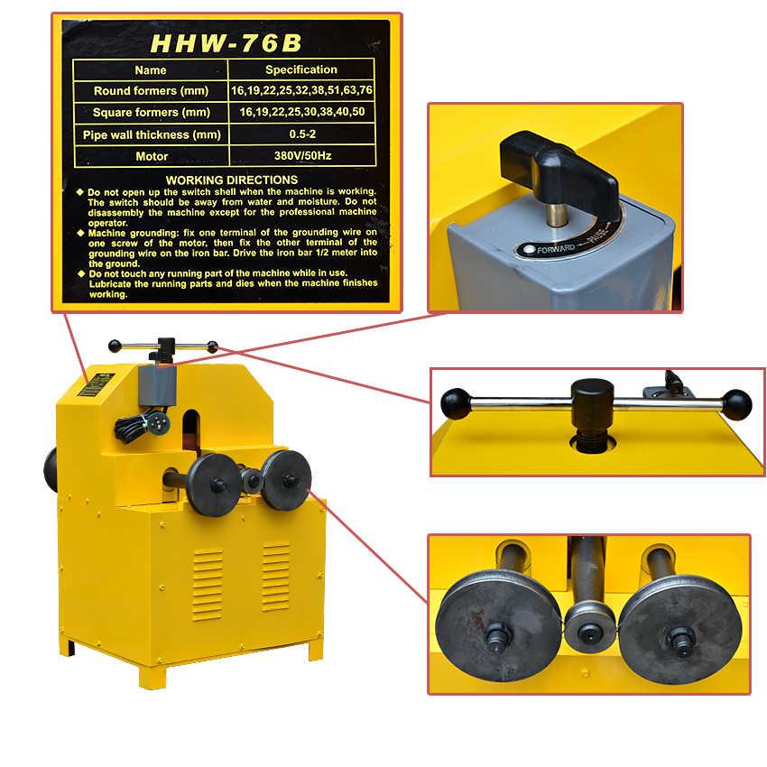 máy uốn ống 3 trục 3