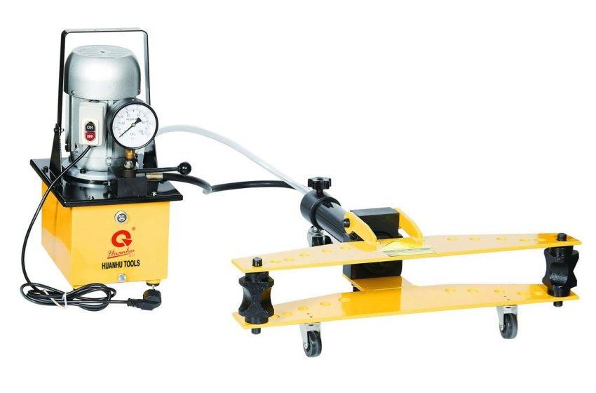 Hình ảnh máy uốn ống thủy lực HHW-2D