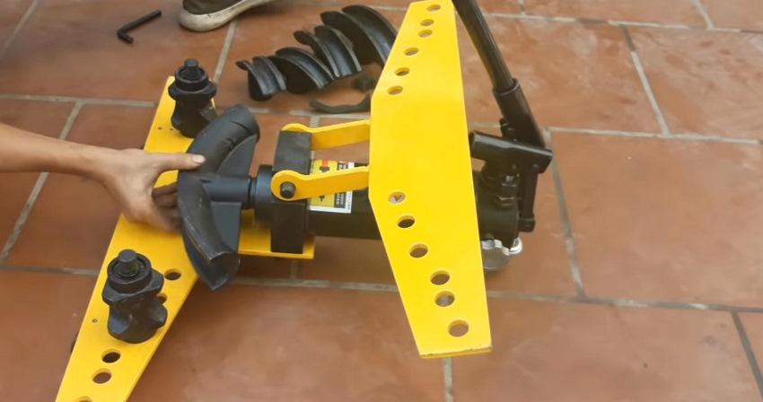 cách sử dụng máy uốn ống thủy lực 5