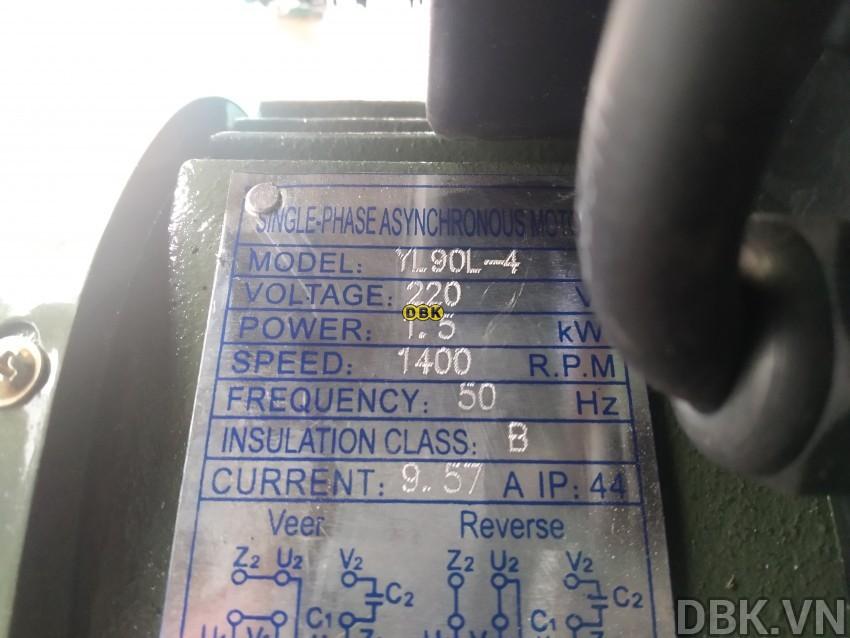 Thông số trên máy
