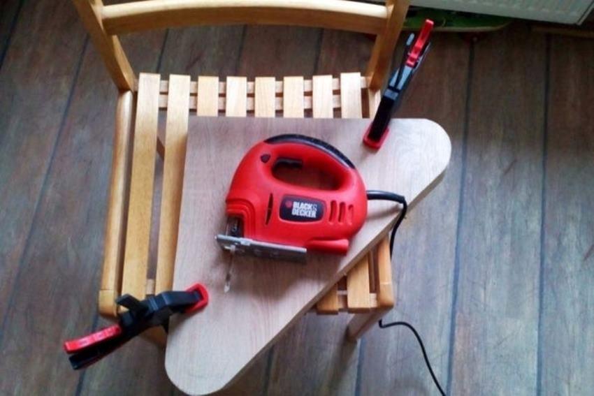 Bảng gỗ nên được cắt thành hình tròn